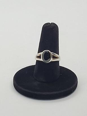 bague-spinelle-noir-kali-en-argent-925