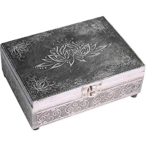 boite-a-bijoux-tarot-argentee-lotus