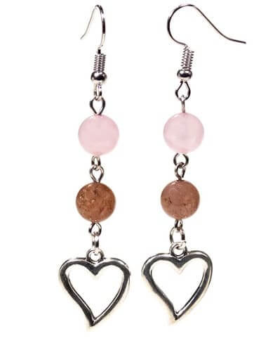 boucles-d-oreilles-quartz-rose-quartz-fraise-avec-coeur