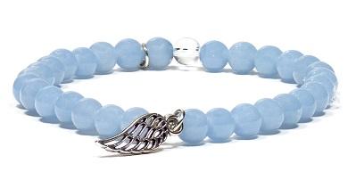 bracelet-angelite-elastique-avec-aile-d-ange-6-mm