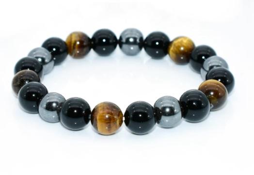 bracelet-de-protection-obsidienne-noire-hematite-oeil-de-tigre-10-mm