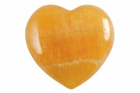 coeur-calcite-orange