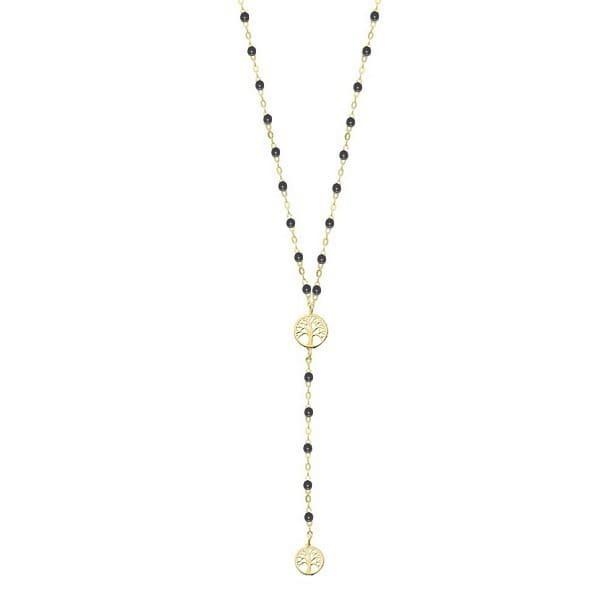 collier-dore-en-acier-pour-femme-arbre-de-vie-perles-noires