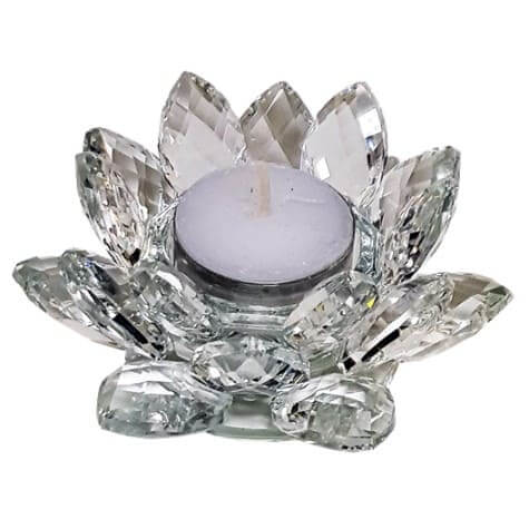 Eclairage-d-ambiance-lotus-verre-de-cristal